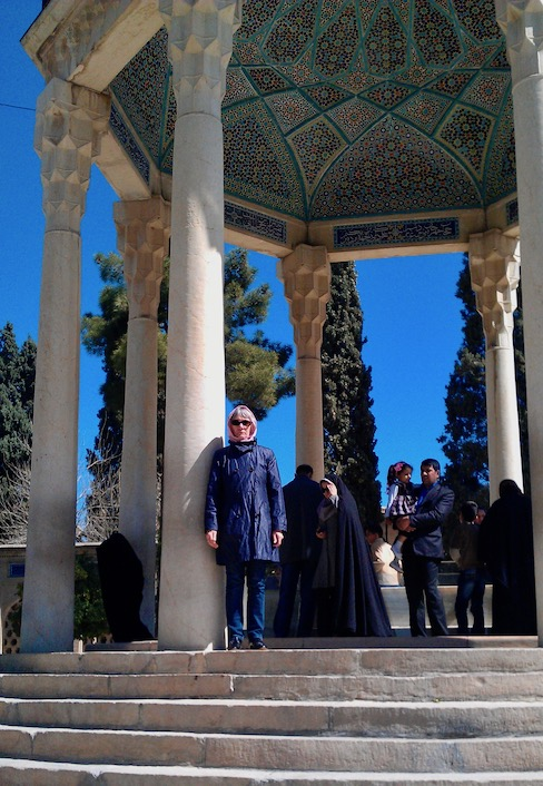 imMausoleum von Hafis in Shiraz