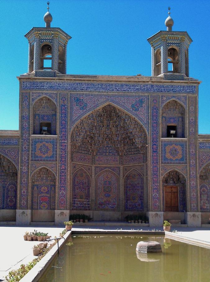Shiraz Iran Nasir-ol-Molk-Moschee Pink-Mosque Rosa-Moschee Iran