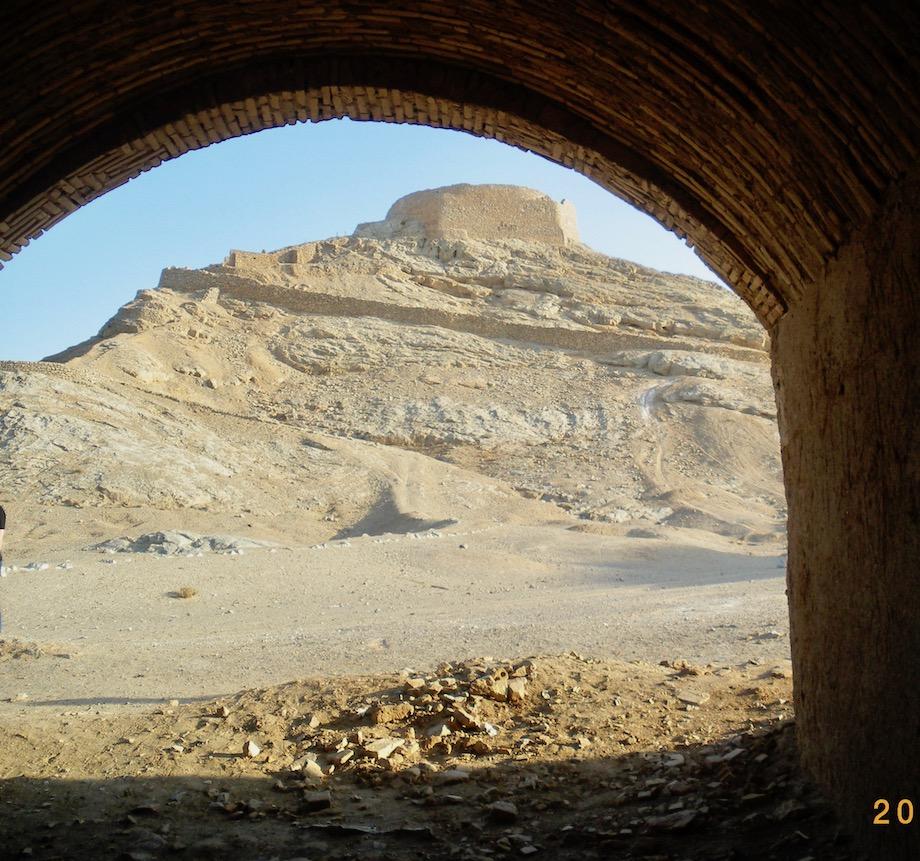 Iran Sehenswürdigkeiten Türme des Schweigens (Dakhmehs) in Yazd