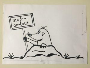 www.mole-on-tour.de fertige Vorlage für die Beschriftung unseres Wohnmobiles