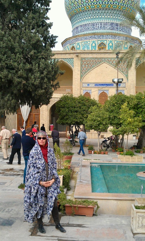 Innenhof Ali Ibn Hamze holy shrine in Shiraz