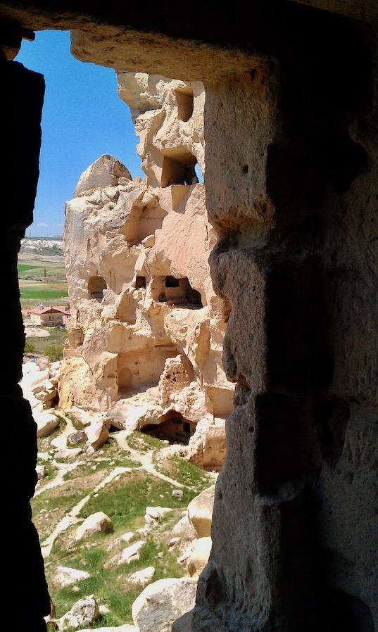 Kappadokien Sehenswürdigkeiten Ortahisar Burgberg Ortahisar-Kalesi Türkei