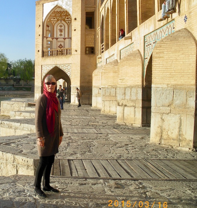 Isfahan Iran Pol-e Chādschu Pol-e Khaju Khaju-Bridge Iran