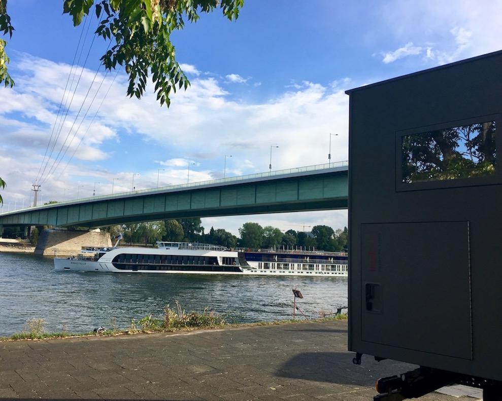 Stellplatz in Köln an der Zoobrücke