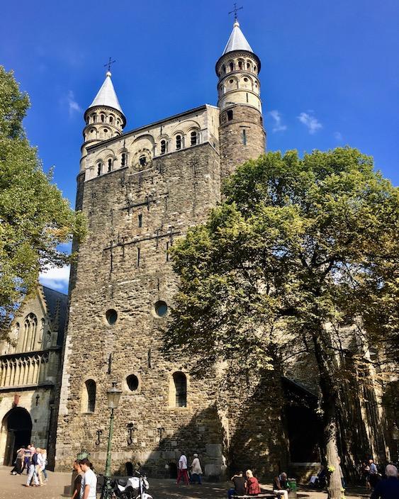 Maastricht Historische-Altstadt Maastricht Niederlande Onze Lieve Vrouwe Basiliek in Maastricht-Niederlande