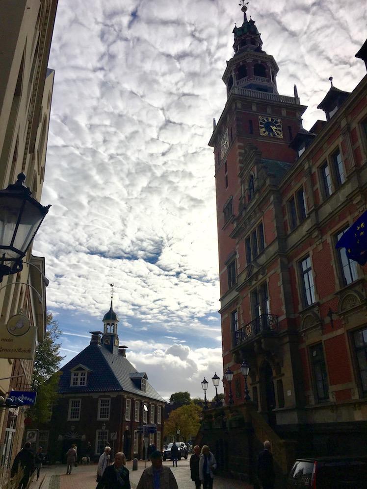 Altes Rathaus und Restaurant Alte-Waage in Leer