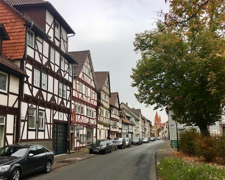Fachwerkhäuser in Eschweger Neustadt
