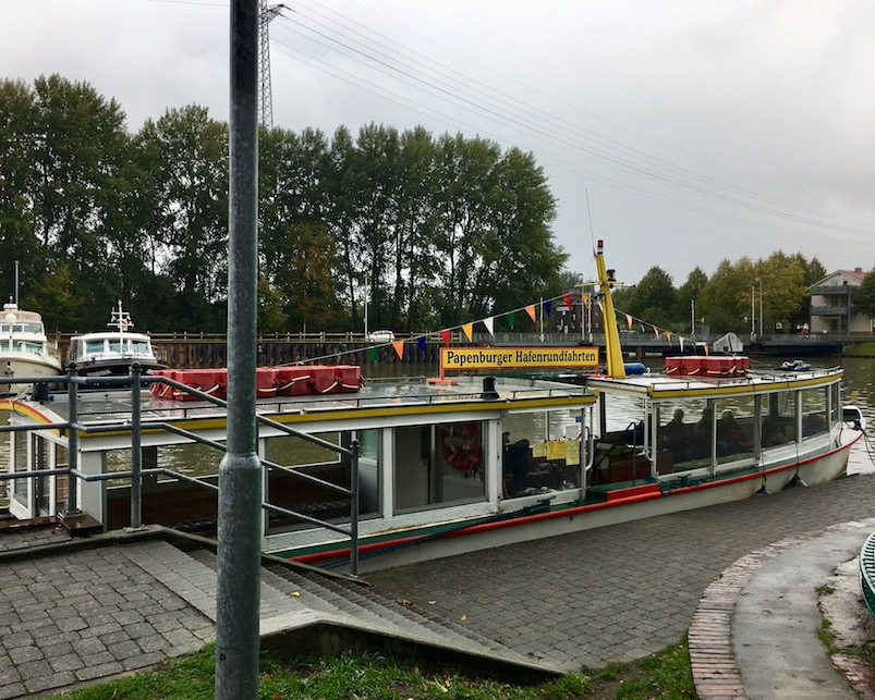 Hafenrundfahrt im Alten-Hafen in Papenburg