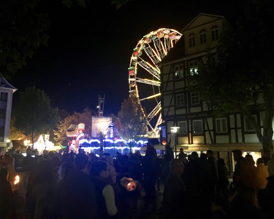 Lullusfest-Riesenrad in Bad Hersfeld 2018