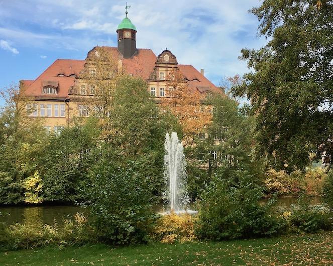 Fontäne  an der Nordschule ehemalige Realschule-Bad Hersfeld
