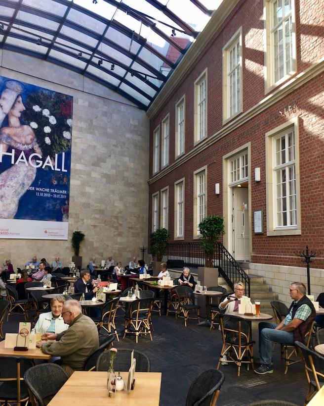 Picasso-Museum in den Arkaden-Münster
