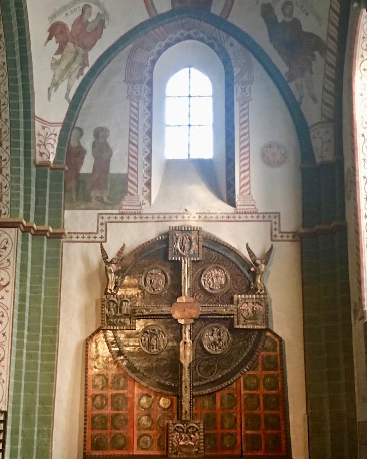 Romanische-Kreuzestafel-Kirche-St.Maria-zur-Höhe-Soest (Scheibenkreuz)