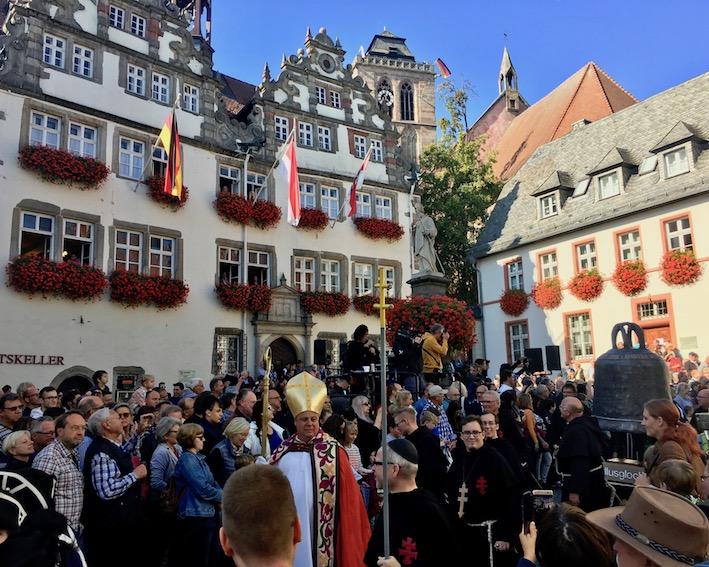 Umzug Fackelzug  Lullusfest 2018 Bad Hersfeld