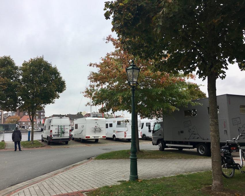 """Wohnmobile-Stellplatz """"Alter-Binnenhafen"""" in Emden"""