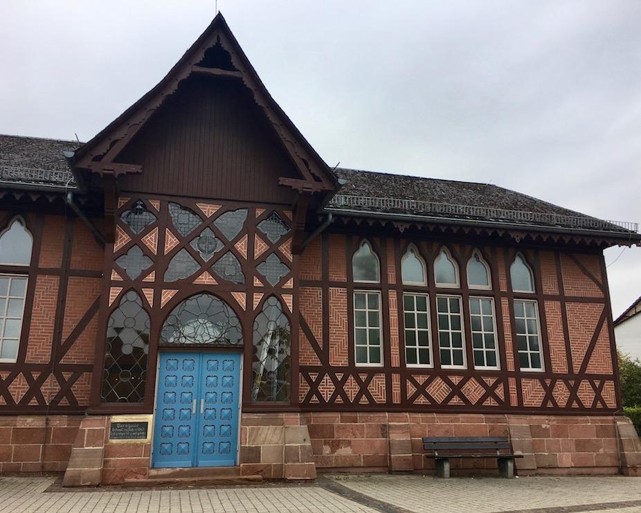 Eschweger Turnhalle erbaut im Jahr 1867
