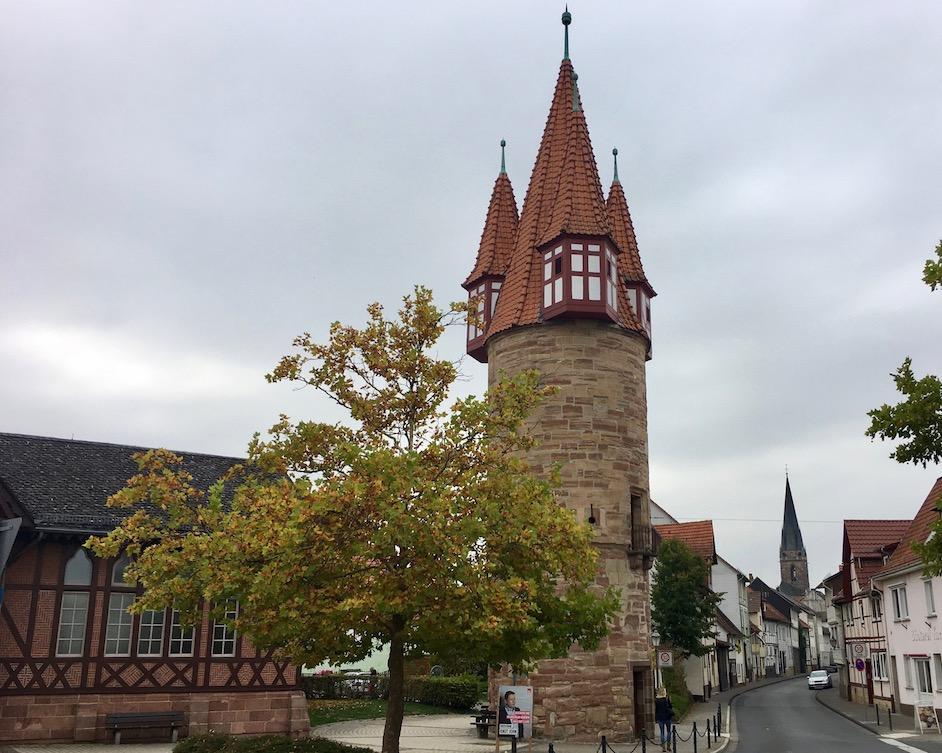 Dünzebacher-Tor-Turm in Eschwege