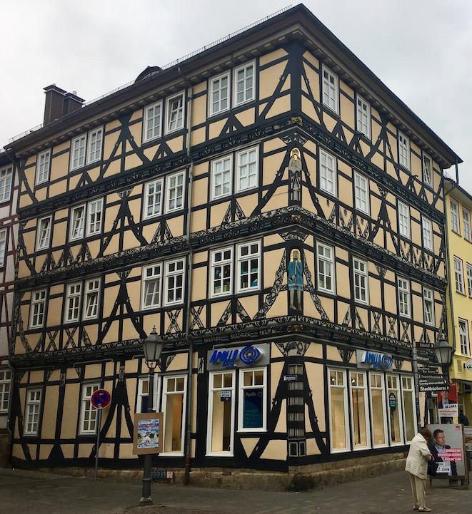 Eschwege Raiffeisenhaus Fachwerkhaus