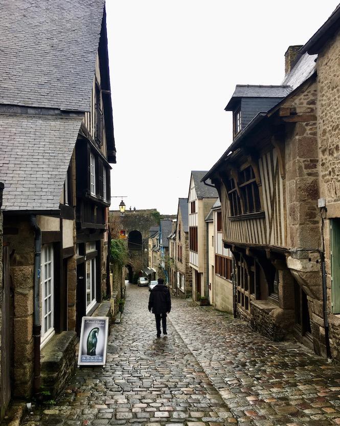 Rue du Jerzual Dinan Bretagne