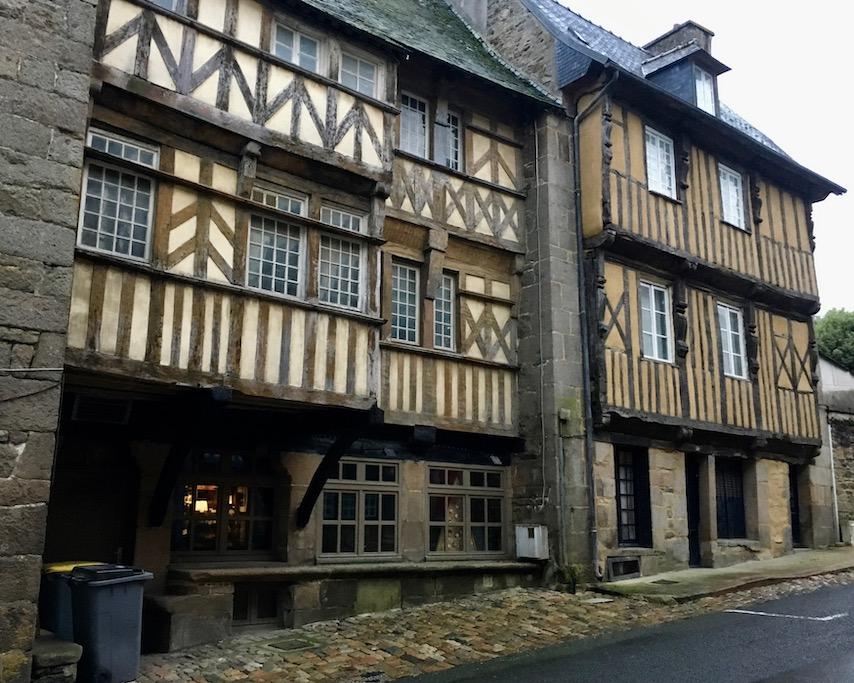 Altstadt Tréguier Bretagne Frankreich