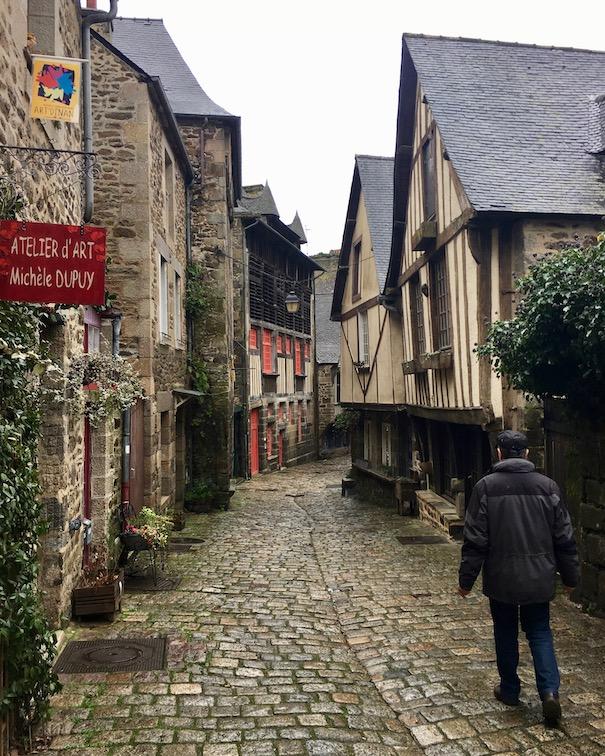 Rue du Jerzual Dinan