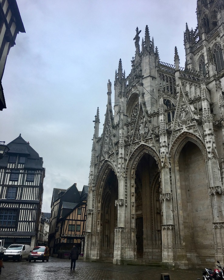 Altstadt Eglise Saint-Maclou Rouen Normandie Frankreich
