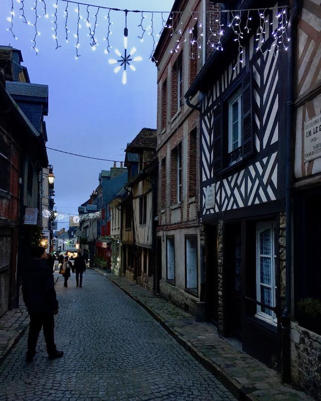 Altstadt Honfleur Normandie Frankreich