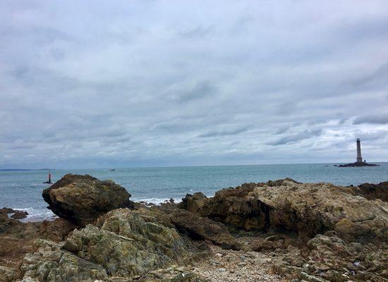 Am Cap La Hague Titelbild Cotentin Normandie Frankreich