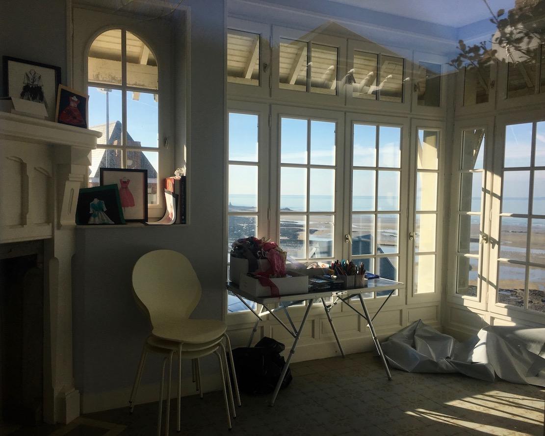 Atelierhaus im Park Dior Granville Cotentin Normandie Frankreich