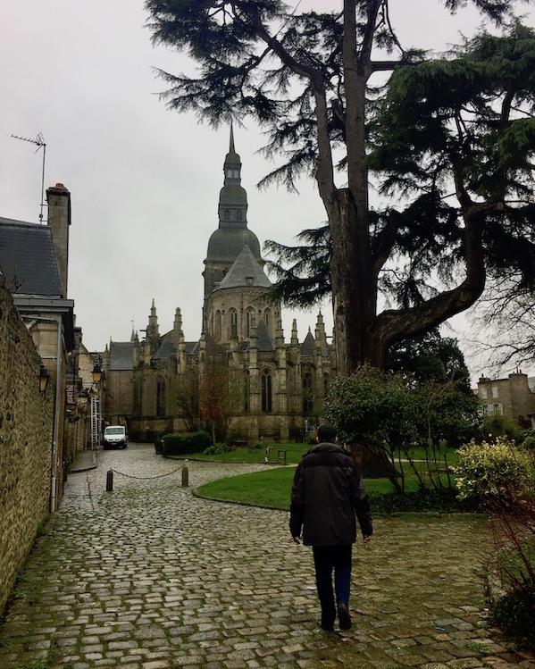 Basilika Saint-Sauveur Dinan Bretagne