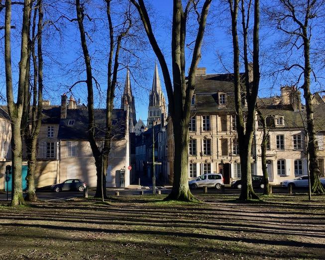 Bayeux Normandie Frankreich