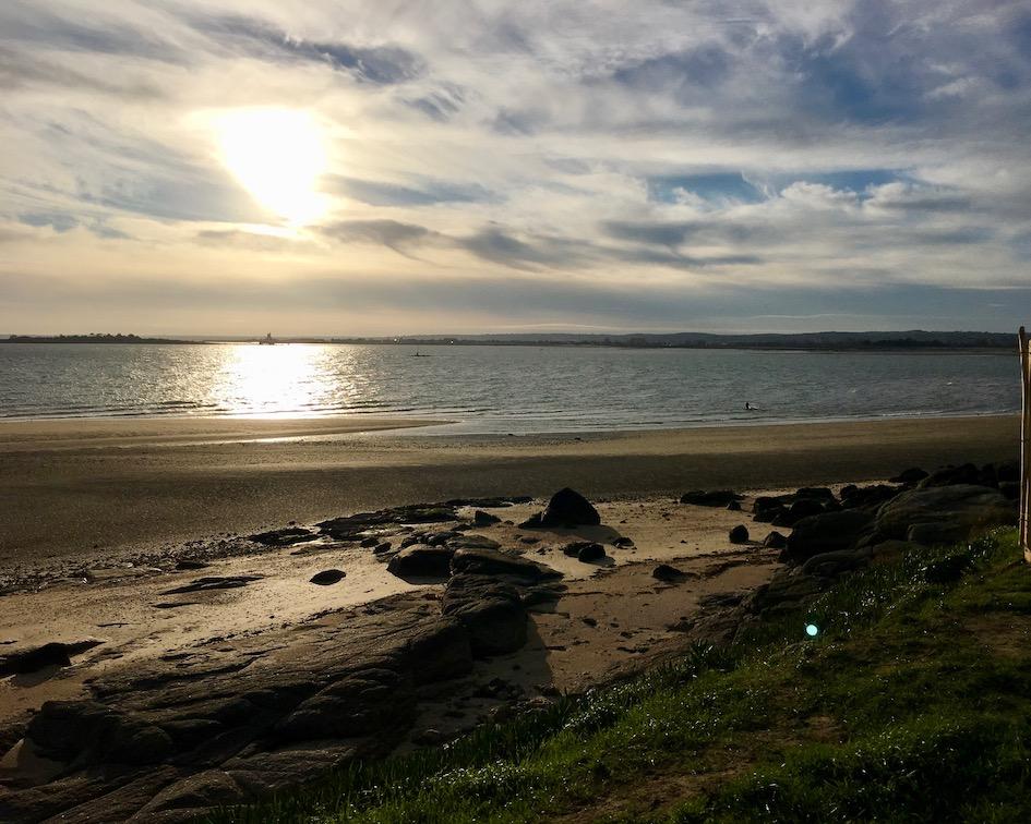 Bucht von Reville Cotentin Normandie