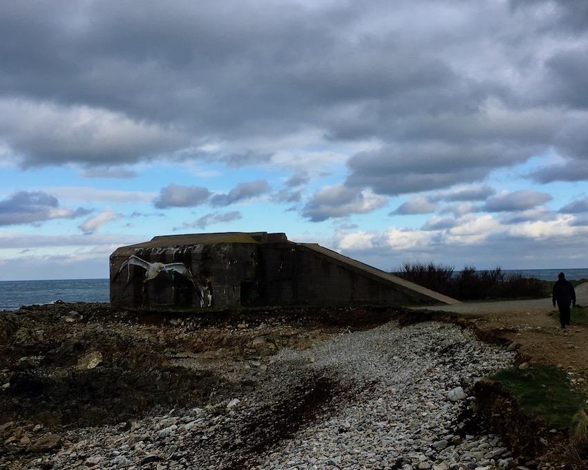 Bunker Cap-La-Hague Cotentin Normandie Frankreich