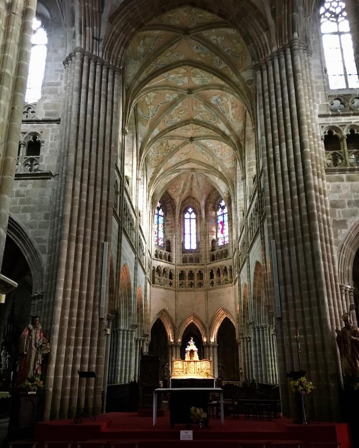 Chorraum Kathedrale Saint-Tugdual Tréduier