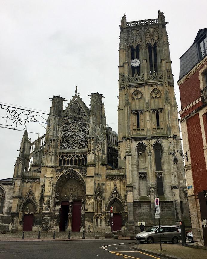 Église Saint-Jacques  in Dieppe Normandie Frankreich
