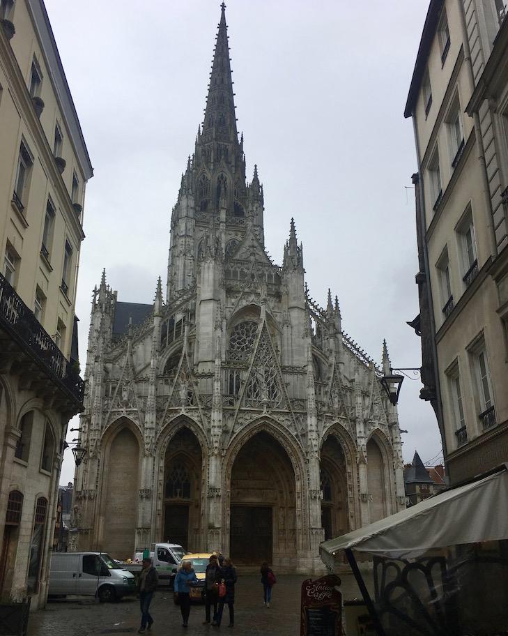 Eglise Saint-Maclou Rouen Normandie Frankreich
