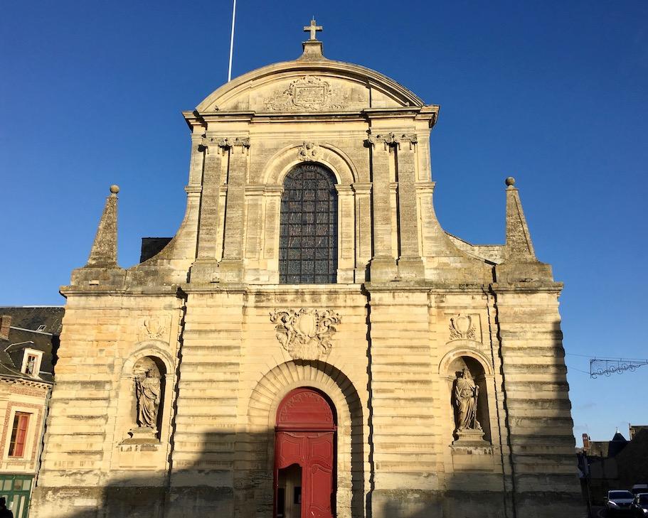 Abbatiale de la Sainte-Trinité in Fécamp Normandie Frankreich