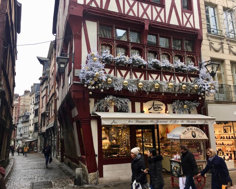 Fachwerk Altstadt Rouen Normandie Frankreich