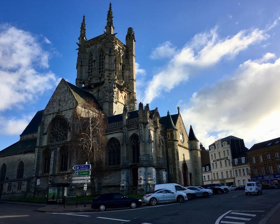 Église Saint-Étienne in Fécamp Normandie Frankreich