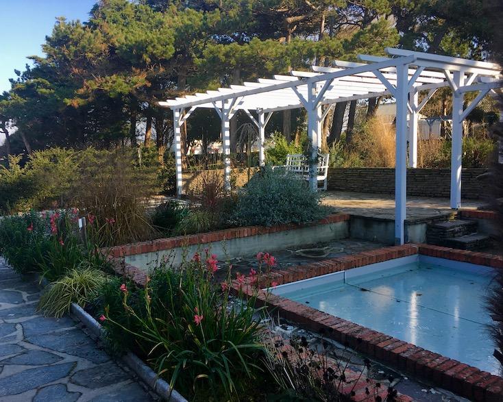 Garten Dior-Museum Granville Cotentin Normandie Frankreich