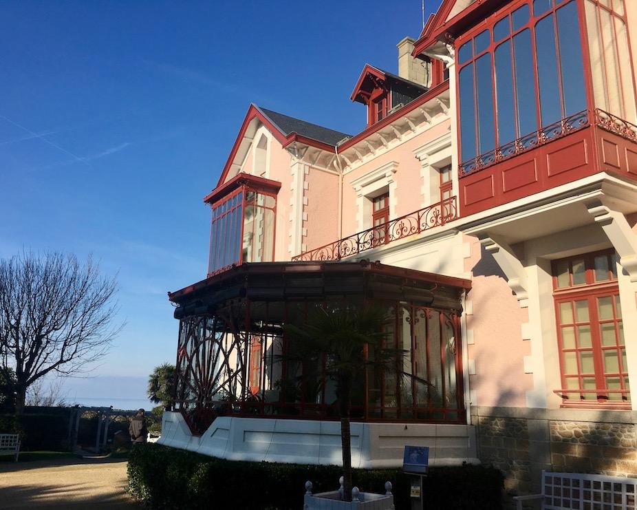 Geburtshaus Christian Dior Granville Cotentin Normandie Frankreich