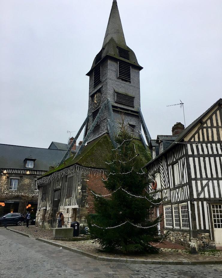 Glockenturm Sainte-Catherine Honfleur Normandie Frankreich