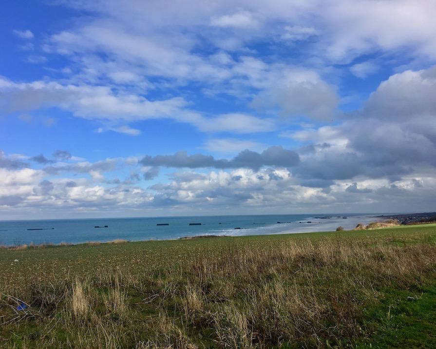 Gold Beach Kanalkueste Normandie Frankreich