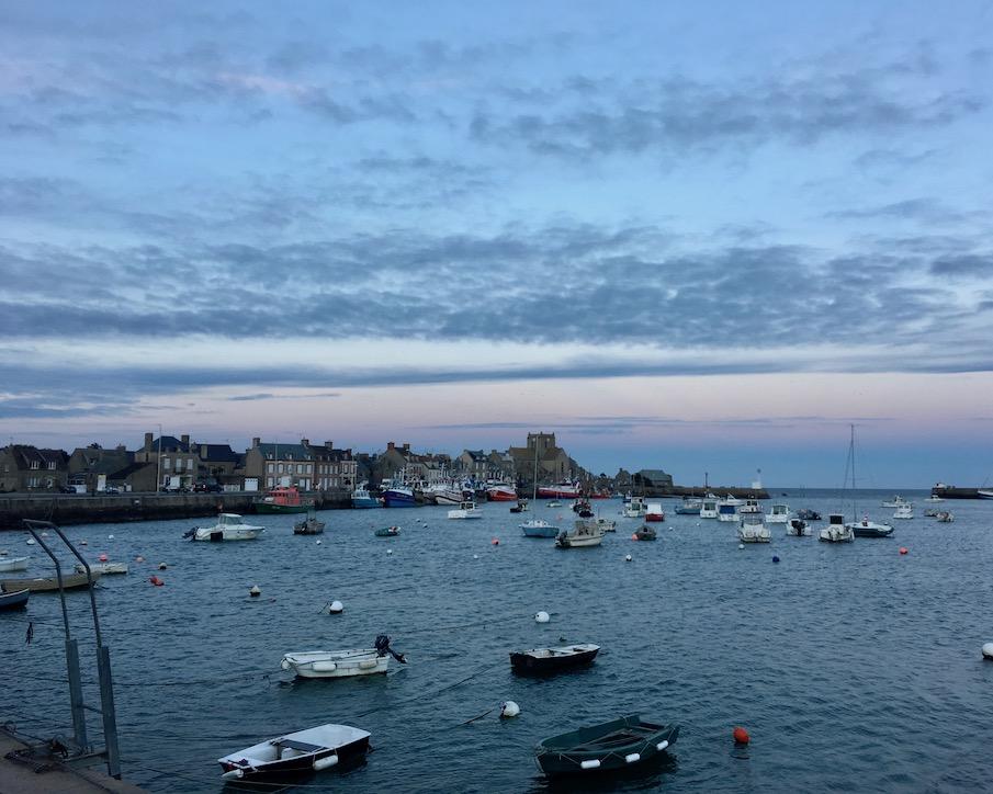 Hafen von Barfleur Cotentin Normandie Frankreich