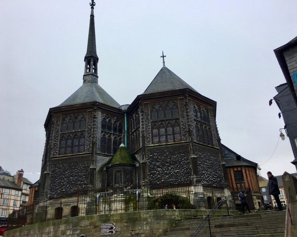 Holzkirche Sainte-Catherine Honfleur Normandie Frankreich