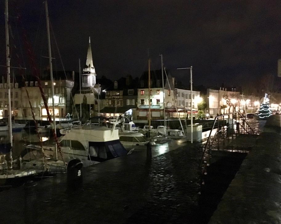 Honfleur am Abend Normandie Frankreich