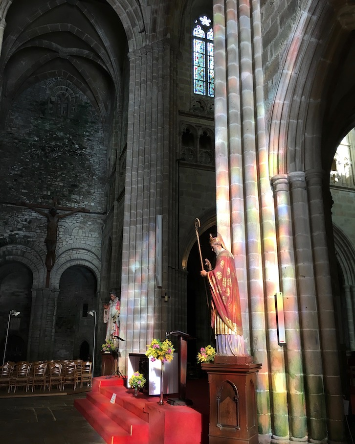 Innenraum der Kathedrale Saint-Tugdual Tréguier