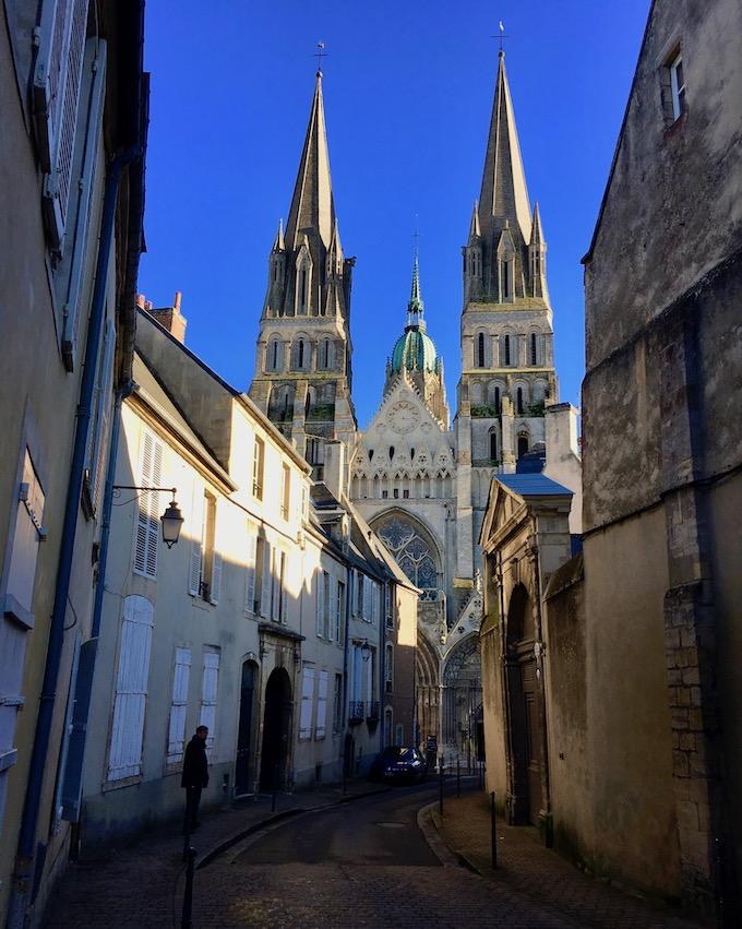 Kathedrale Notre-Dame-de-l'Assomption Bayeux Normandie Frankreich