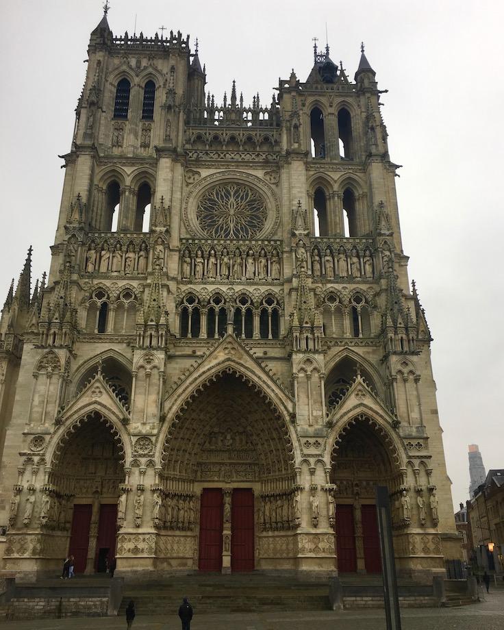 Kathedrale Notre-Dame von Amiens Normandie Frankreich Weltkulturerbe