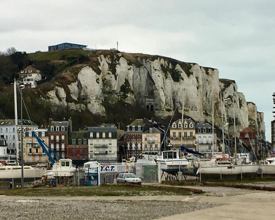 Kreidefelsen von Le Tréport Normandie Frankreich
