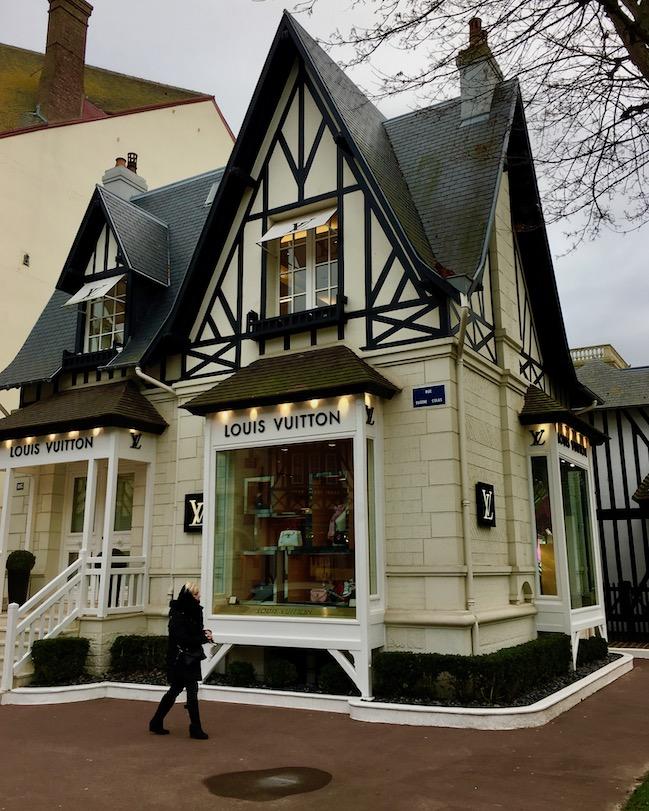 Niederlassung Louis Vuitton Deauville Normandie Frankreich